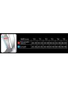Gambaletto polpaccio R2 compressione per gara e recupero