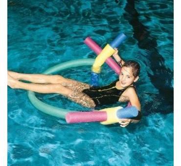 Connettore 4 buchi tubo galleggiante piscina scuola nuoto
