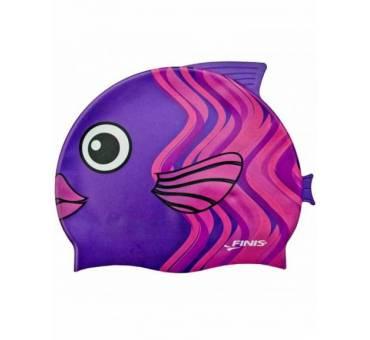 Cuffia pesce corallo viola Finis Bambino