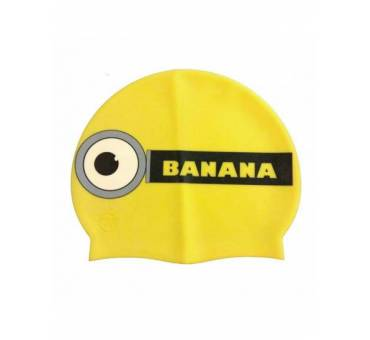 Cuffia piscina minions banana in silicone