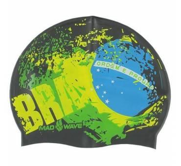 Cuffia piscina silicone Brasile Mad Wave