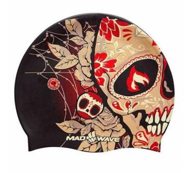 Cuffia piscina silicone calavera Tomb Face Mad Wave