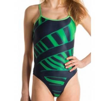 Costume allenamento Openback Acid Green