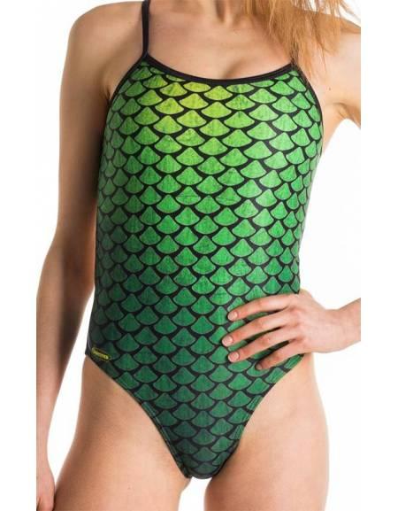 Costume allenamento donna Openback Sirena SwimmerWear
