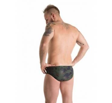 Costume da allenamento Uomo camo verde scuro by SwimmerWear