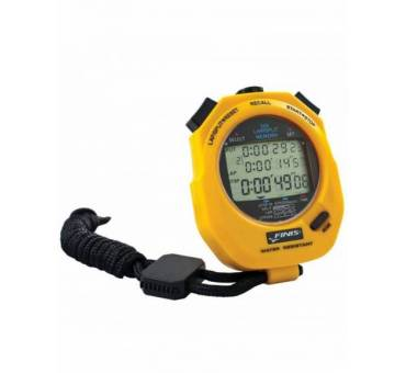 Cronometro FINIS 300 Memorie 3 Linee Display