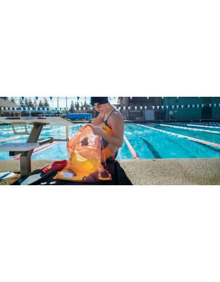 Sacca da piscina Mesh Bag FINIS tessuto rete traspirante