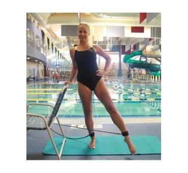 Elastico con cavigliere per allenamento a secco