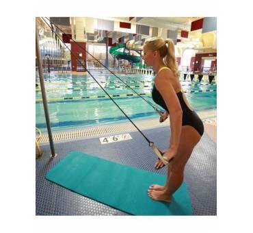 Elastico per Esercizi a Secco Nuoto con Palette Strechcordz
