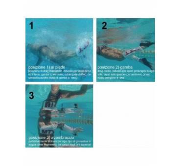 Mesh Tube Trainer allenamento nuoto