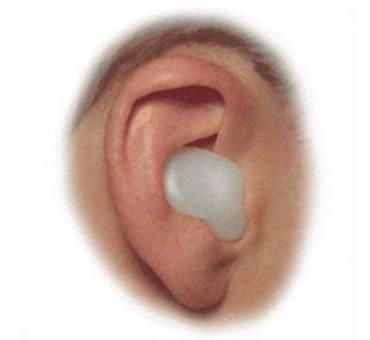 EAR PLUG Tappi Orecchie piscina per Nuoto silicone 2 Pz