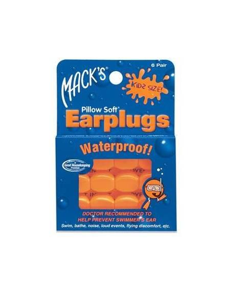 EAR PLUG Tappi Orecchie bambino per Nuoto in silicone 6 Pz