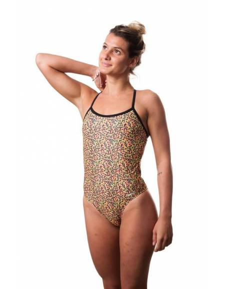 Costume intero piscina donna TRIANGLES SwimmerWear