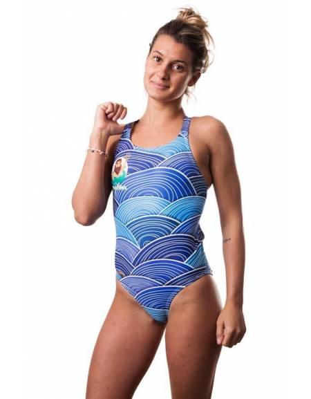 Costume allenamento donna Bladeback POSEIDON SwimmerWear