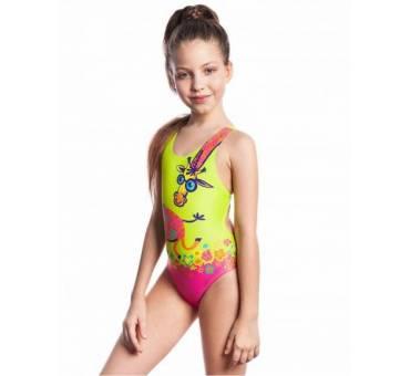 Costume Nuoto Bambina Giraffa