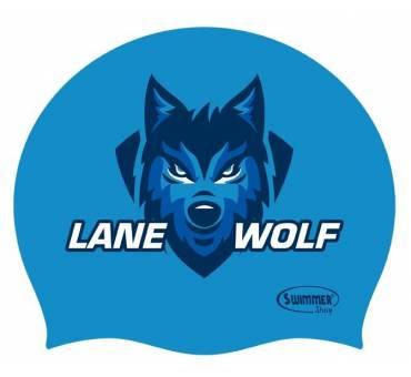 Cuffia Silicone Lane Wolf Lupo da Corsia