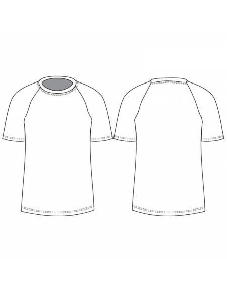 Maglietta Personalizzata Squadra in Tessuto Tecnico