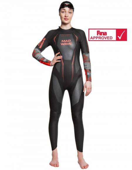 Muta Triathlon Nuoto RAPID Donna Omologata FINA