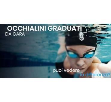 Occhialini Nuoto Graduati Gara Kit Montaggio