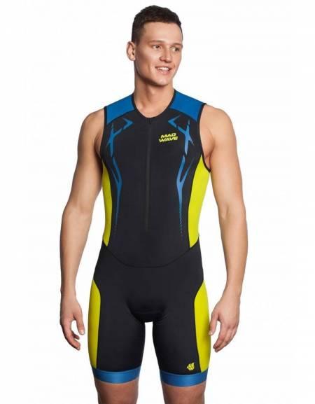 Body Triathlon Uomo con Imbottitura da Running