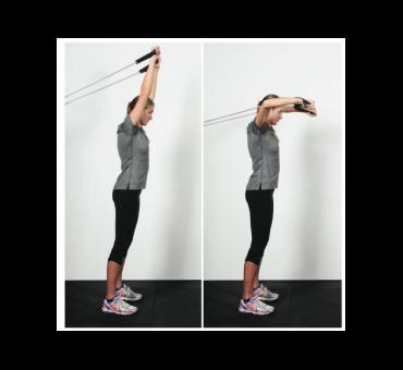 Kit elastici per allenamento a secco 90/270 cm