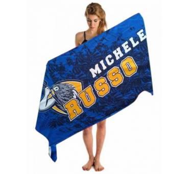 Asciugamano con nome personalizzato