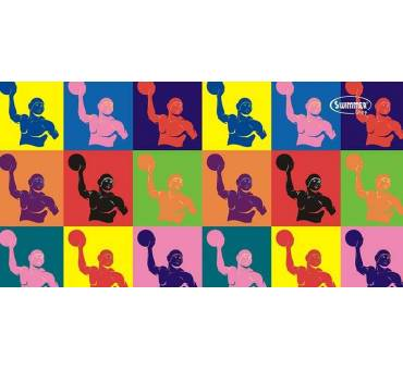 Asciugamano Waterpolo Pop Art