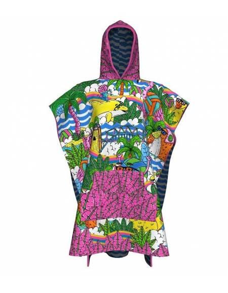 Poncho Personalizzato da Piscina per Nuotatori