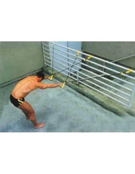 Macchina elastica per allenamento rana