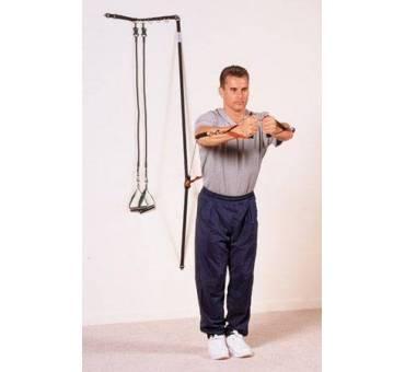 Kit a Muro per Riabilitazione e Fisioterapia con Elastici