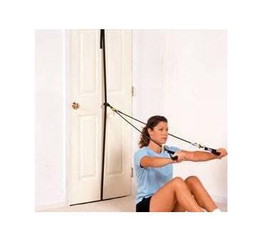 Kit a Porta per Riabilitazione e Fisioterapia con Elastici