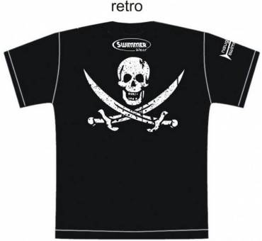 T-Shirt Maglietta Pirata Calico Jack Swimmer Wear