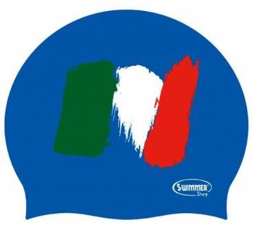 CUFFIA in silicone BANDIERA ITALIA linea Naughty Swimmer