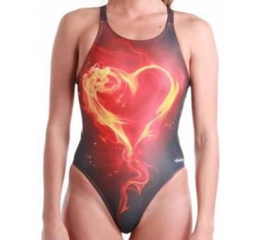 Costume allenamento donna CUORE di FUOCO SwimmerWear