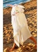 Asciugamano Coniglio con Cappuccio