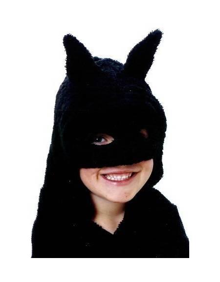Asciugamano Mask Black con cappuccio