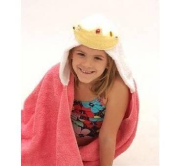 Asciugamano Principessa con cappuccio