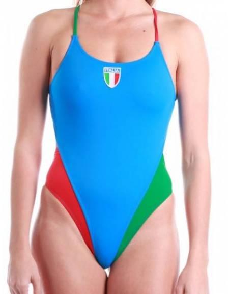 Costume donna intero allenamento nuoto ITALIA