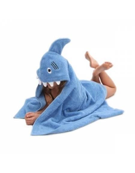 Asciugamano Squalo con Cappuccio