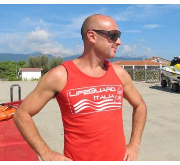 Canotta Salvataggio Life Guard Italia