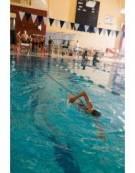 Elastico per il Nuoto Frenato con cintura lungo