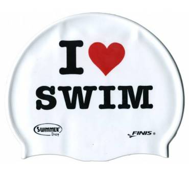 Cuffia in silicone I LOVE SWIM