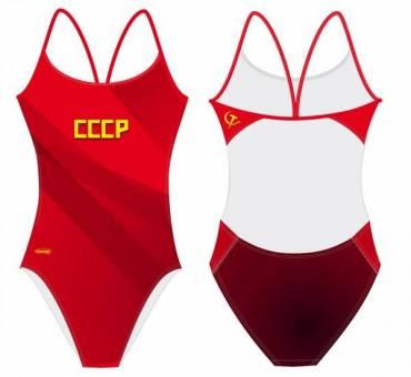 Costume allenamento donna Openback CCCP SwimmerWear