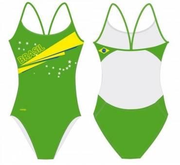 Costume allenamento donna Openback BRASILE SwimmerWear