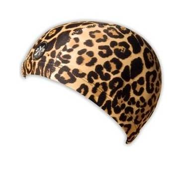 Cuffia in Lycra Leopardo Adulto