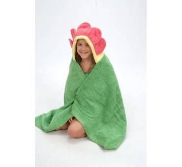 Asciugamano Fiore con Cappuccio