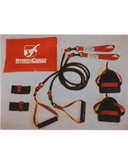 Set Modulare di ELASTICI per l'allenamento a secco