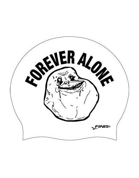 Cuffia Forever Alone MEME in Silicone