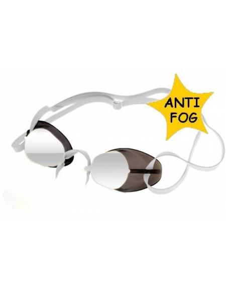 Occhialini Svedesi SPECCHIATI anti app. BORDO IN GOMMA