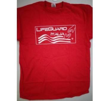 Maglietta Salvataggio Life Guard Italia